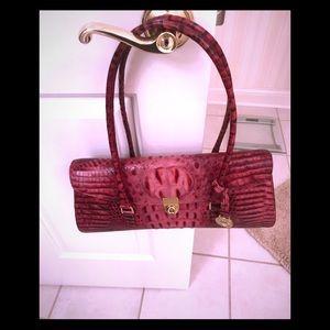 Brahmin wine color purse